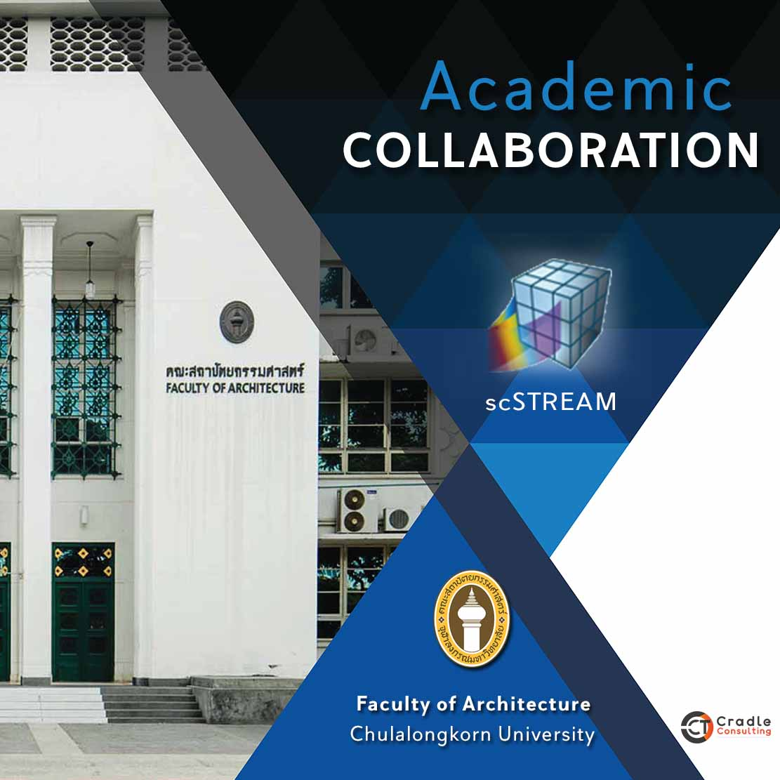 Academic Collaboration - Faculty of Architecture, Chulalongkorn University