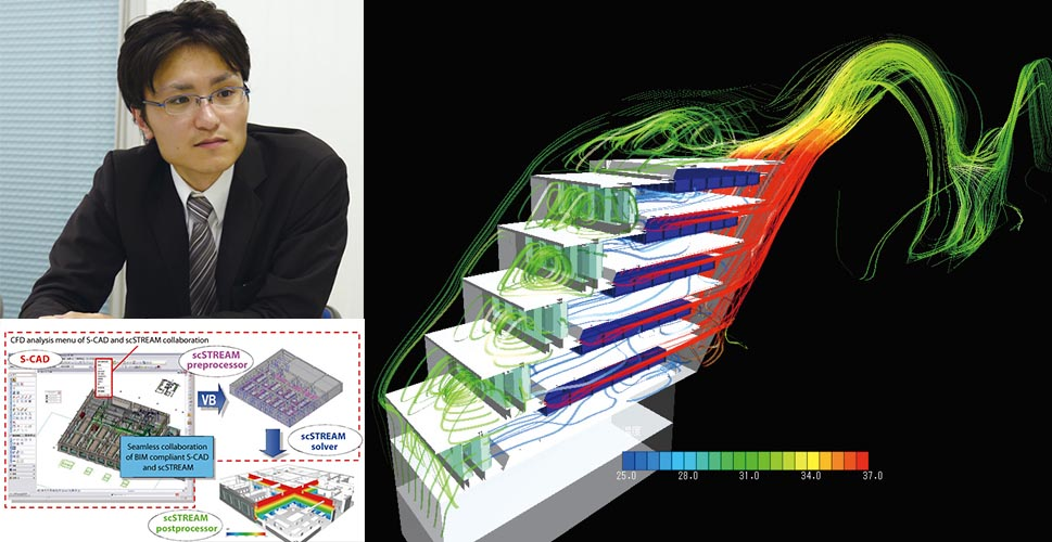 Making the Most of CFD Analysis by Effective Coordination with BIM - SHINRYO CORPORATION